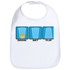 drink set flip Bib