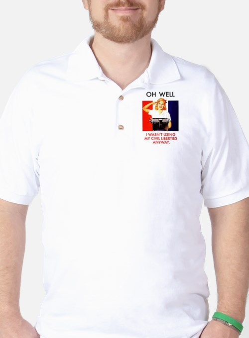 Civil Liberties Golf Shirt
