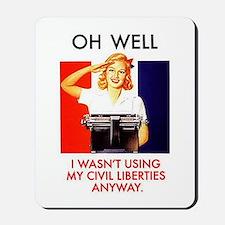 Civil Liberties Mousepad
