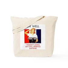 Civil Liberties Tote Bag