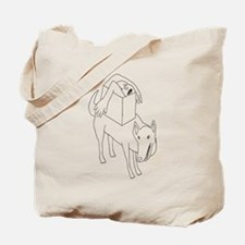contortionz Tote Bag