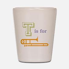 Tis for Trombone Shot Glass