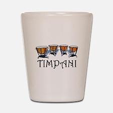 Timpani Shot Glass