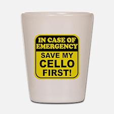 Save My Cello Shot Glass