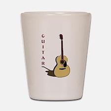 Guitar Shot Glass