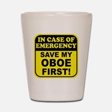 Save My Oboe Shot Glass
