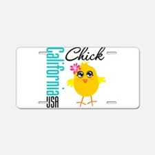 California Chick Aluminum License Plate