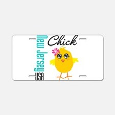 New Jersey Chick Aluminum License Plate