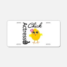 Actress Chick Aluminum License Plate