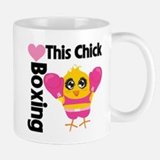 This Chick Loves Boxing Mug