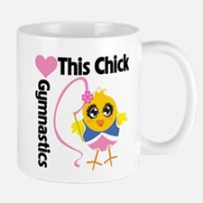 This Chick Loves Gymnastics Mug