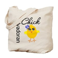 Salvadoran Chick Tote Bag