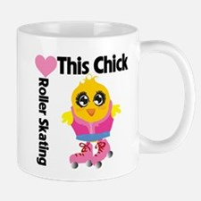 This Chick Loves Roller Skati Mug
