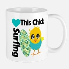This Chick Loves Surfing Mug