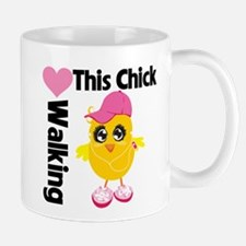 This Chick Loves Walking Mug