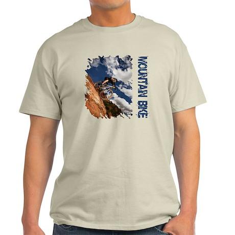 Mountain Bike Blue Sky Light T-Shirt