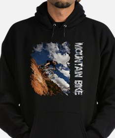 Mountain Bike Blue Sky Hoodie (dark)