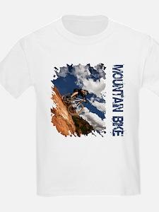 Mountain Bike Blue Sky T-Shirt
