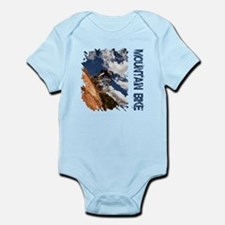 Mountain Bike Blue Sky Infant Bodysuit