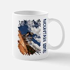 Mountain Bike Blue Sky Mug