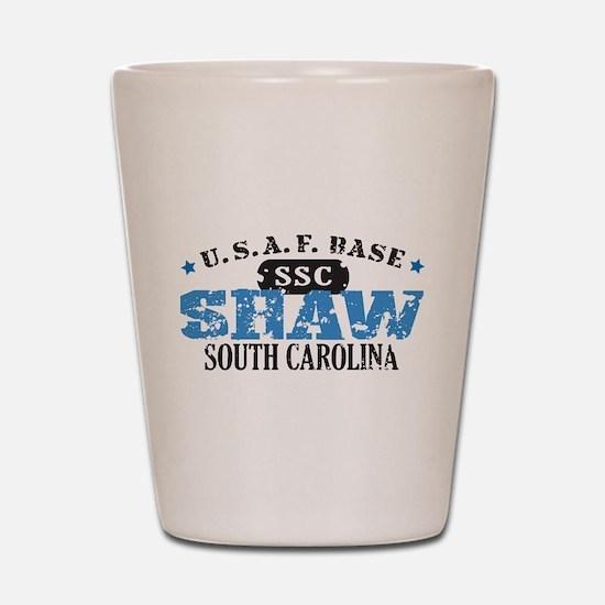 Shaw Air Force Base Shot Glass