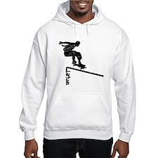 Lietuva Extreme Skateboarder Hoodie