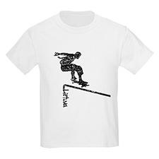 Lietuva Extreme Skateboarder T-Shirt