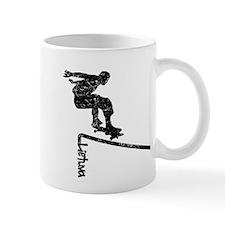 Lietuva Extreme Skateboarder Mug