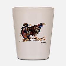 Raven Trio Shot Glass