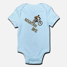 Mountain Bike Downhill Infant Bodysuit