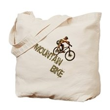 Mountain Bike Downhill Tote Bag