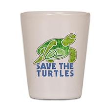 Save the Turtles Shot Glass