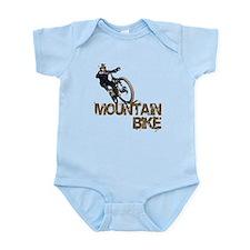 Mountain Bike Infant Bodysuit