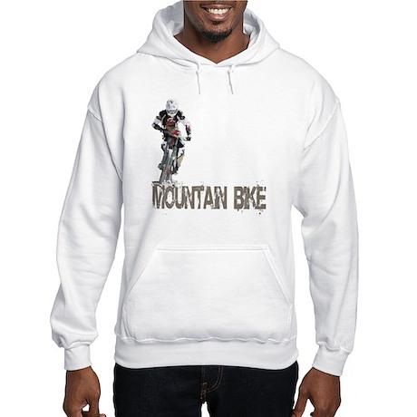 Mountain Bike Left Hooded Sweatshirt