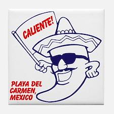 Playa del Carmen, Caliente BR Tile Coaster
