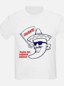 Playa del Carmen, Caliente BR T-Shirt