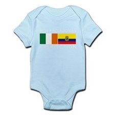Irish Ecuadorian heritage fla Infant Bodysuit