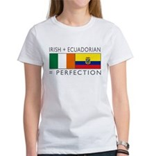 Irish Ecuadorian heritage fla Tee