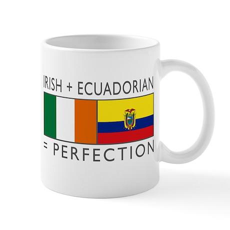 Irish Ecuadorian heritage fla Mug