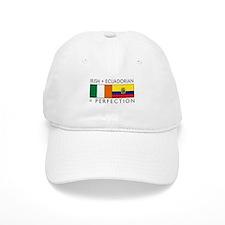 Irish Ecuadorian heritage fla Baseball Cap