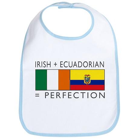 Irish Ecuadorian heritage fla Bib
