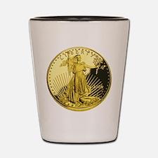 Cute Coins Shot Glass