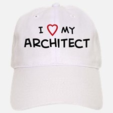 I Love Architect Baseball Baseball Cap
