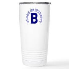 Blues University Travel Mug