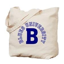 Blues University Tote Bag