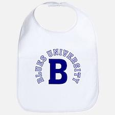 Blues University Bib