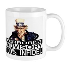 100% infidel Mug
