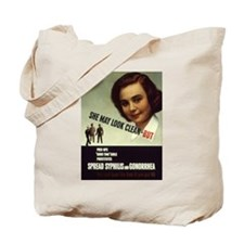 Can't Fight with VD Tote Bag