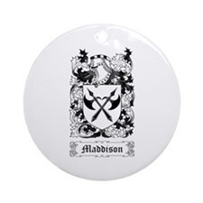 Maddison Ornament (Round)