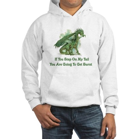 Step On My Tail Hooded Sweatshirt